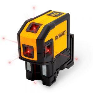 تراز لیزری خطی 5 نقطه دیوالت مدل DW0851-xj