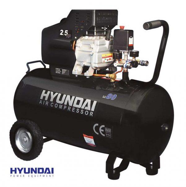 کمپرسور باد 80 لیتری هیوندای AC-8025